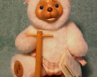 """Robert Raikes Nursery Collection Bear """"Scooter"""""""