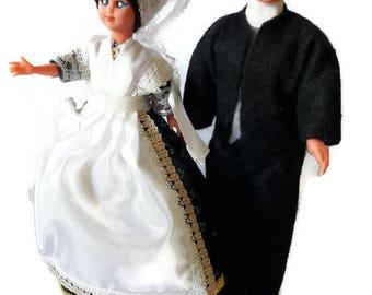 Doll old folk - France - folk dolls from La Rochelle