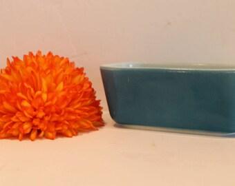 Blue Pyrex #502-B - Blue Pyrex Fridgie - Refrigerator Dish No Lid - Blue Horizon Dish - Pyrex #502