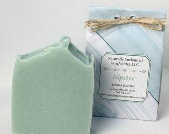 Soap Bar, Shea butter Soap, Men;s Hipster Scented Soap Bar, Handmade soap, Homemade soap, Body Soap, Hand Soap, Cold Process soap