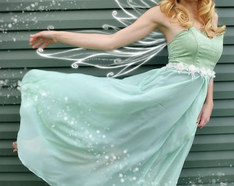 Tinkerbell inspired Formal/Prom/Bridesmaid Dress