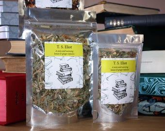 T. S. Eliot Inspired Tea - Poet -  Literary Tea  - Tea Gift - Literary Gift - Bookish Gift - Poets Gift - Tea -