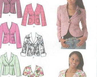 Simplicity - 4182 - Girls' Blazer