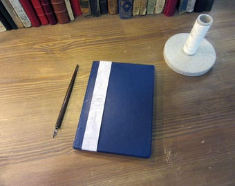 Reduced price! -20% - notebook to fill - leather - the classics - traditional full leather binding - guestbook - Made in Arles