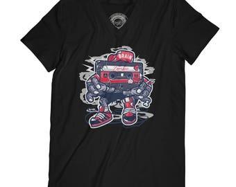 Fathers day shirt zombie t-shirt cassette t-shirt old school zombie shirt zombie fan gift hipster t-shirt funny t-shirt APV42