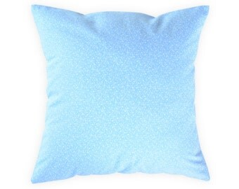 Blue pillow cover - Floral blue pillow cover