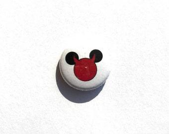 Devil Disney 1 inch pinback button // Original Artwork // Unique, Fun, Funny, Creative, One of a kind Pins