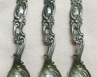 Three Demitasse Spoons by Whiting