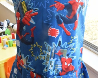 Spiderman dress (blue 4T)