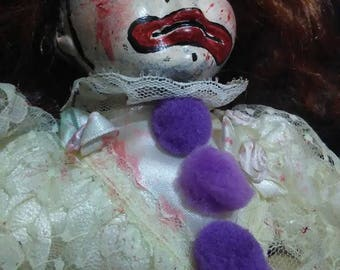 Clown Girl Haunted Doll!