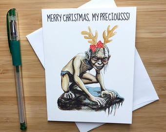 Nerd christmas card | Etsy