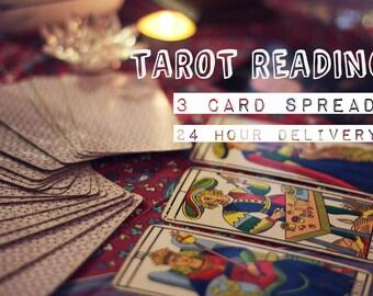 3 Card Tarot Reading: Past, Present Future