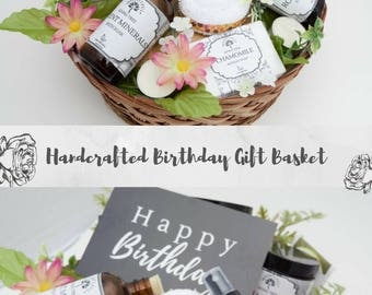 Birthday Gifts for Her, Birthday Gift for Wife, Birthday Gift for Mom, Birthday Gift for Bestfriend, Birthday Gift Basket,Spa Gift for Women