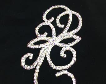 Swarovski Rhinestone Hair Jewelry Headpiece