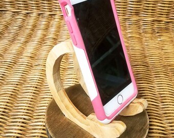 Wooden Cell Phone Stand
