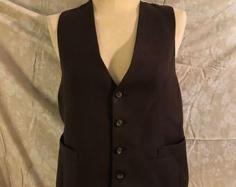 Vintage Brown Vest