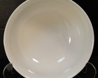 "Mikasa French Countryside Coupe Cereal Bowl 7 1/8"" White Salad F9000 EXCELLENT!"