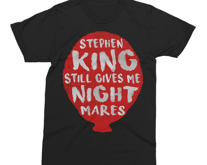 Featured listing image: Nightmares Stephen King T-Shirt Limited Edition