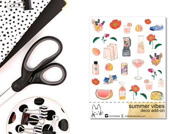 Summer Vibes - ADD-ON Deco Sticker