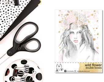 Wild Flower II Double Full Boxes II for your ECLP