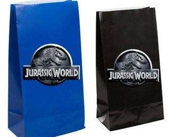 Jurassic world Party Favorgift  Bag ~ Jurassic world birthday Party Inspired Decorations & Decor