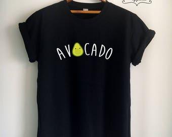 Vegan Shirt Avocado Shirt Vegan T Shirt Avocado T Shirt Vegan Merch for Women Girl Men Unisex Tumblr Vegetarian Top Tee Vegetarian T Shirt