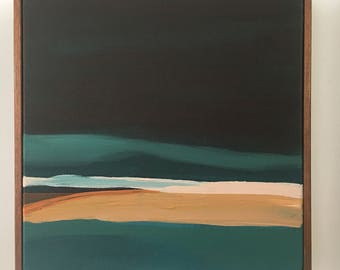 Original Abstract Landscape Painting from California