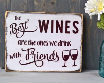Wine lovers - gifts for mom - man cave - bar decor - wine lover gift - funny wine - gifts for dad - hostess gift - housewarming gift
