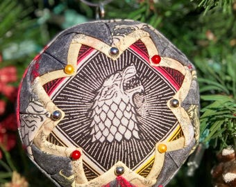 Game of Thrones inspired ornament