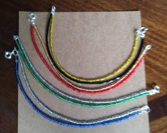 Hogwarts House Inspired Bracelets