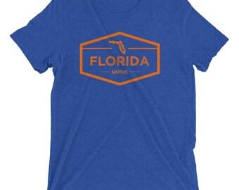 Florida Native Vintage Triblend Short Sleeve T-Shirt