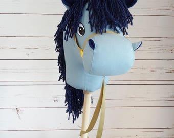 Stick Horse ! Sparkly Mane ! Sheriff Callie Sparky Inspired!  Hobby Horse ! Christmas or Birthday Present!