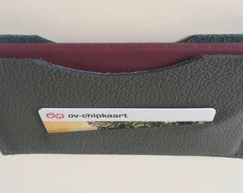 Passport Pouch of leather