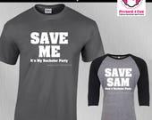 Bachelor Party Shirts: Sa...