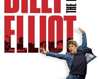 Billy Elliot Musical Theater Poster A3 or A4 Matt