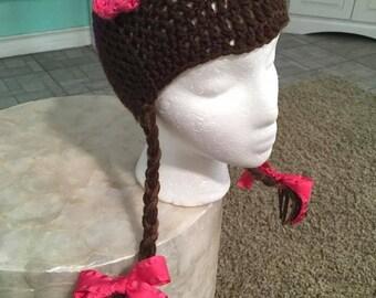 Crochet Doc Mc Stuffins hat