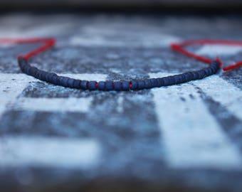 Wish Bracelet - Motivation Bracelet - Red String, Mens gift for him Husband Gift , Saint Valentine Gift Men, San Valentin Gift Men