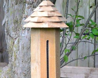 Wild Bird Feeders, Wooden Bird Feeder, Bird Feeding Station, Platform Birdfeeder