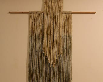 Texturized Wool Wall Hanging