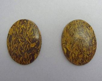 Calligraphy Fossil Stones, 2 pcs., DESTASH