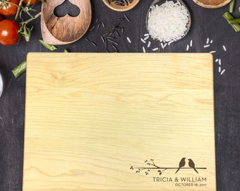 Gift for Mother, Gift for Her, Personalized Gift, Custom Cutting Board, Personalized Cutting Board, Cutting Board Wedding Gift, B-0064 Rec