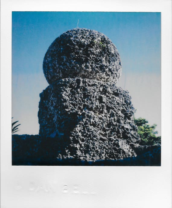 Set of Three : Coral Castle