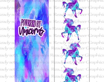 Unicorn Cheer bow sublimation Strips for download.