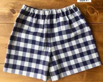 The Madrid Shorts: Size 0-3 month