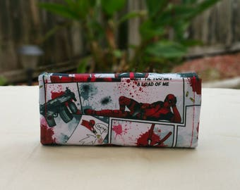Deadpool Phone Clutch Wallet B