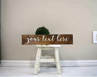 Custom sign, custom wood sign, custom wooden sign, custom plaque, custom stained sign, wood sign, wooden sign, wood plaque, custom gift