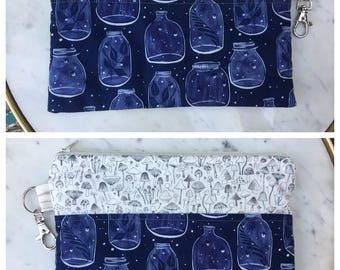 Zipper Pouch- Fully Lined- CLEARANCE - Various Designs