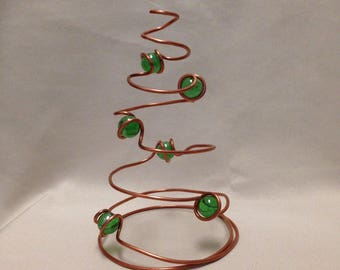 Decorative Christmas Tree / Mantel Decoration / Cone tree / Ornamental Christmas Tree / Tree Center Piece / Mantel Tree