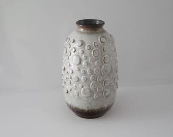Stunning vase by  Jasba N 900 11 25, West German Pottery, Wgp, Fat Lava