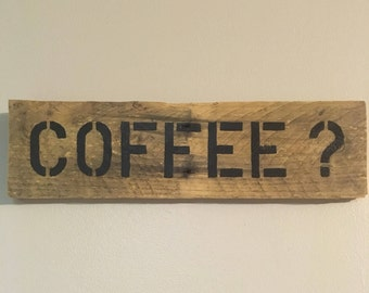 Coffee Kitchen Sign